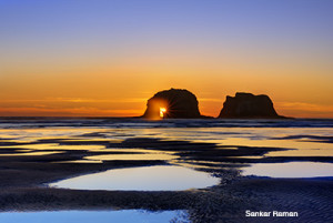 Twin Rock, Rockaway Beach, OR.